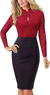 Women's Short Sleeve Business Church Dress B430