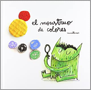 El monstruo de colores (edición álbum ilustrado, no versi