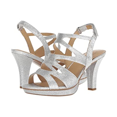 Naturalizer Dianna (Silver Glitter Synthetic) Women