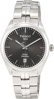 T101.410.44.061.00 Men's Watch PR 100 Silver 39mm Titanium