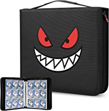 Brappo Carrying Case Compatible with Pokemon Trading Cards, Cards Collectors Album with 40 Premium 18-Pocket Pages, Holds ...