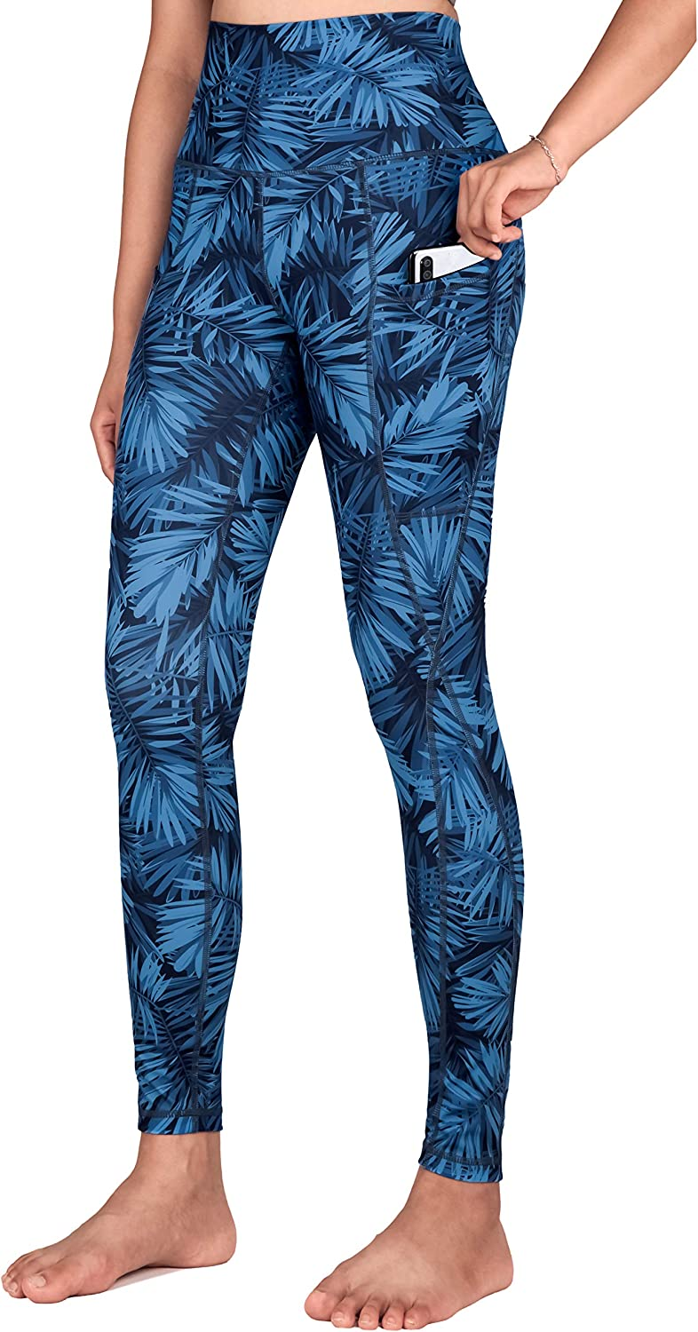 Free Leaper Women's Yoga Shipping New Pants Full-Le with High Cheap Waisted Pockets