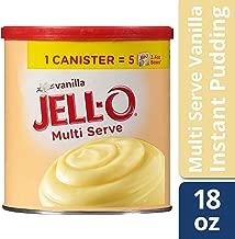 JELL-O Vanilla Instant Pudding & Pie Filling Mix (18 oz Box)