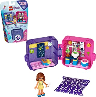 LEGO Friends Olivia's Play Cube 41402 Building Kit, Includes 1 Scientist Mini-Doll, Great for Imaginative Play, New 2020 (...