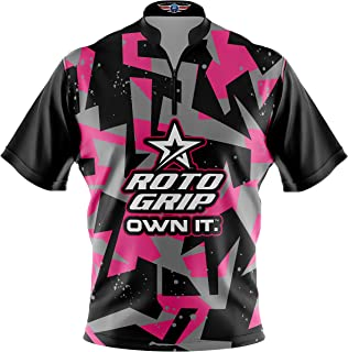 Logo Infusion Bowling Dye-Sublimated Jersey (Sash Collar) - Roto Grip Style 0362 - Sizes S-3XL
