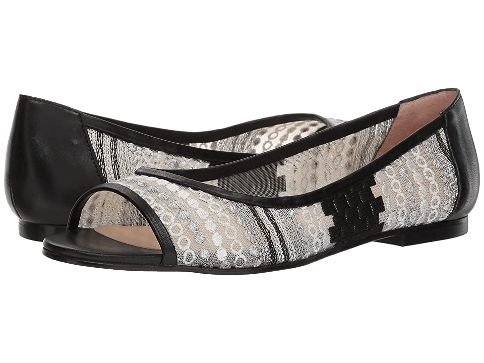 French Sole Noir (White/Black Anubi Mesh) Women