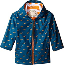Hatley Kids - Tiny Whales Splash Jacket (Toddler/Little Kids/Big Kids)
