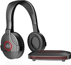 SHARPER IMAGE SHP921 Universal Wireless Headphones For TV, Black