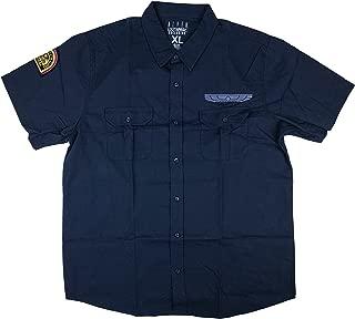 Loot Crate Alien Nostromo Crew Woven Nay Blue Shirt