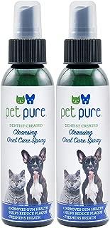 Dr. Brite Antibacterial Pet Pure Cleansing Oral Care Spray (Pack of 2)