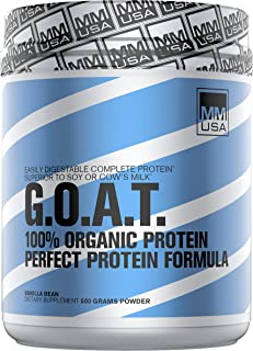 Goat Complete Protein High Biological Value Active Whey. Easily Digested. Supports Muscle Growth + Recovery & Immunity. Hi...