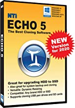 NTI Echo 5   New Version!   The Best Cloning Software. It Simply Works   Make an exact..