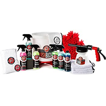 Boat /& Motorcycle Microfiber Applicators Car Shampoo Foam Soap Buttery Wax Drying /& Waxing Towels Adam/'s Basic Wash /& Wax Kit Wash Bucket and More Car Cleaning Supplies to Polish /& Protect Car
