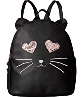 Sparkly Eyes Cat Backpack