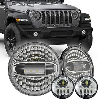 Best jeep tj headlights halo Reviews