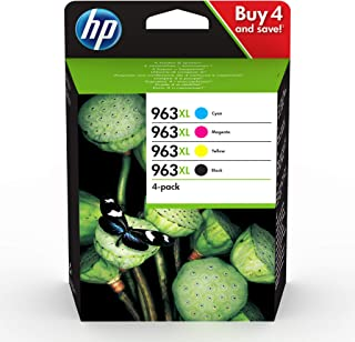HP 963XL 4-pack High Yield Black/Cyan/Magenta/Yellow Original Ink Cartridges