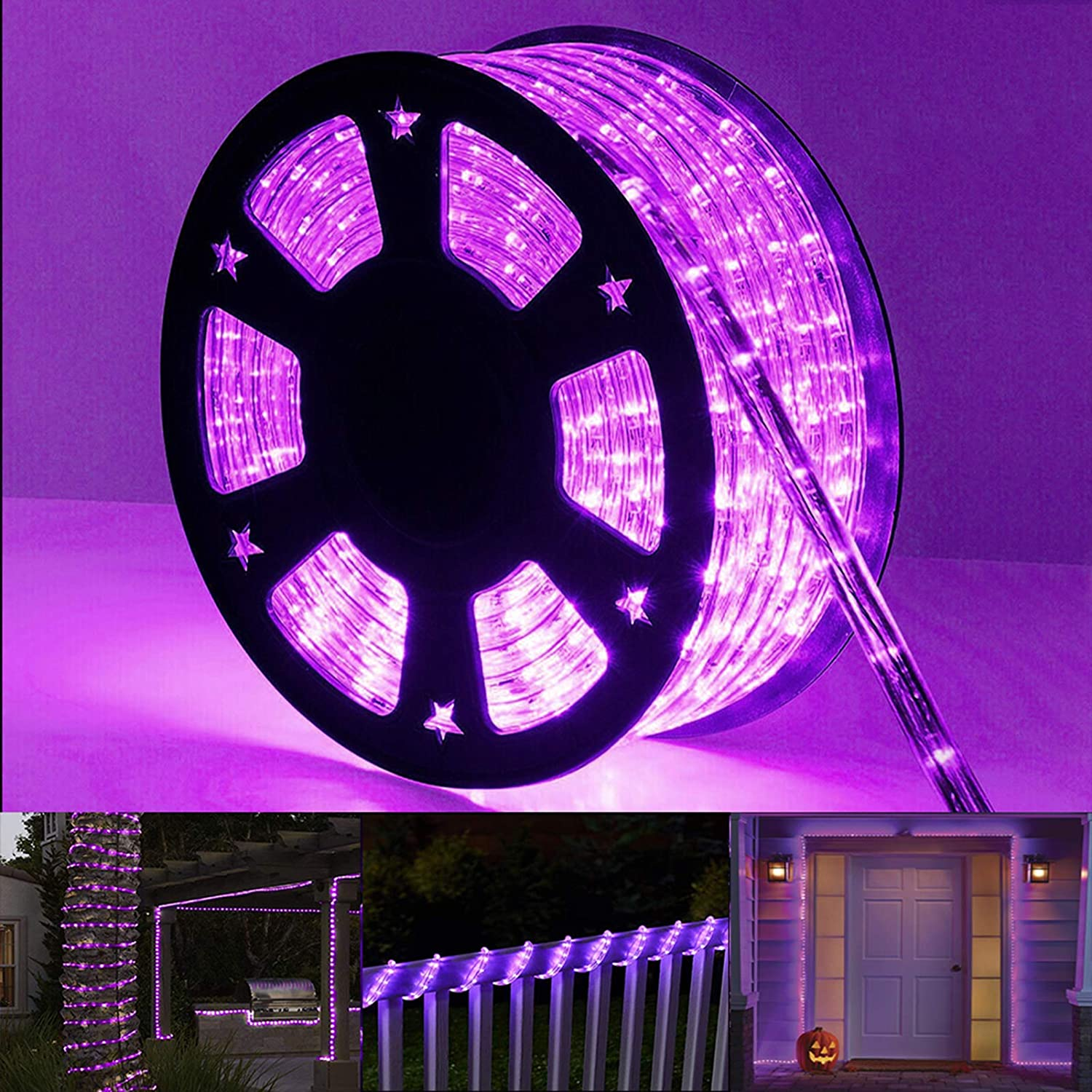 Purple Halloween Lights 98ft 720 Ranking TOP19 Ranking TOP1 Connectable P LED and Flexible