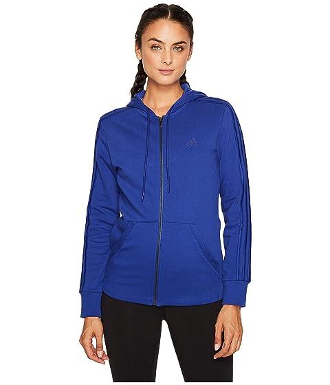 Hoodie adidas Cotton Essentials Full Fleece 3S Zip wFaS0qg
