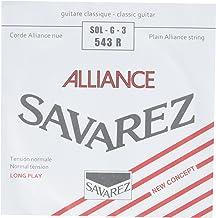 Savarez Cuerdas para Guitarra Cl/ásica Traditional Concert 511R cuerda suelta Mi1w standard adecuado para juego 520P1