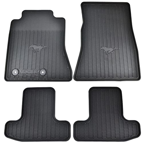 Ford Mustang Floor Mats With Logo Amazon Com