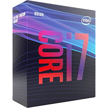 Intel CoreTM i7-9700 processore