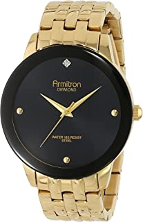 ساعة بمينا مزين بالالماس وسوار للرجال من ارمترون 20/4952