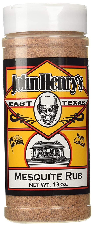 John Henry's East Texas Mesquite Rub Outlet ☆ Free Shipping BBQ - OZ Spice online shop Seasoning 13