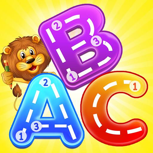 ABC Jungle Animals - Tracing & Phonics
