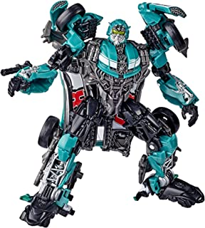 Transformers Toys Studio Series 58 Deluxe Class Dark of The Moon Movie Roadbuster Action Figure – Adults and Kids Ages 8 and Up, 4.5-inch