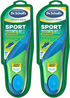 Dr. Scholl's SPORT Insoles (Pack of 2) // Superior Shock Absorption and Arch Support to Reduce Muscle Fatigue and Stress o...