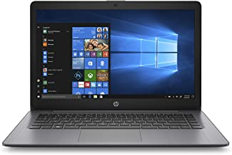 HP Stream 14-inch Laptop, AMD Dual-Core A4-9120E Processor, 4 GB SDRAM, 32 GB eMMC,..