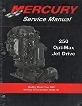 2002 MERCURY OUTBOARD 250 OPTIMAX JET DRIVE P/N 90-888438 SERVICE MANUAL (440)