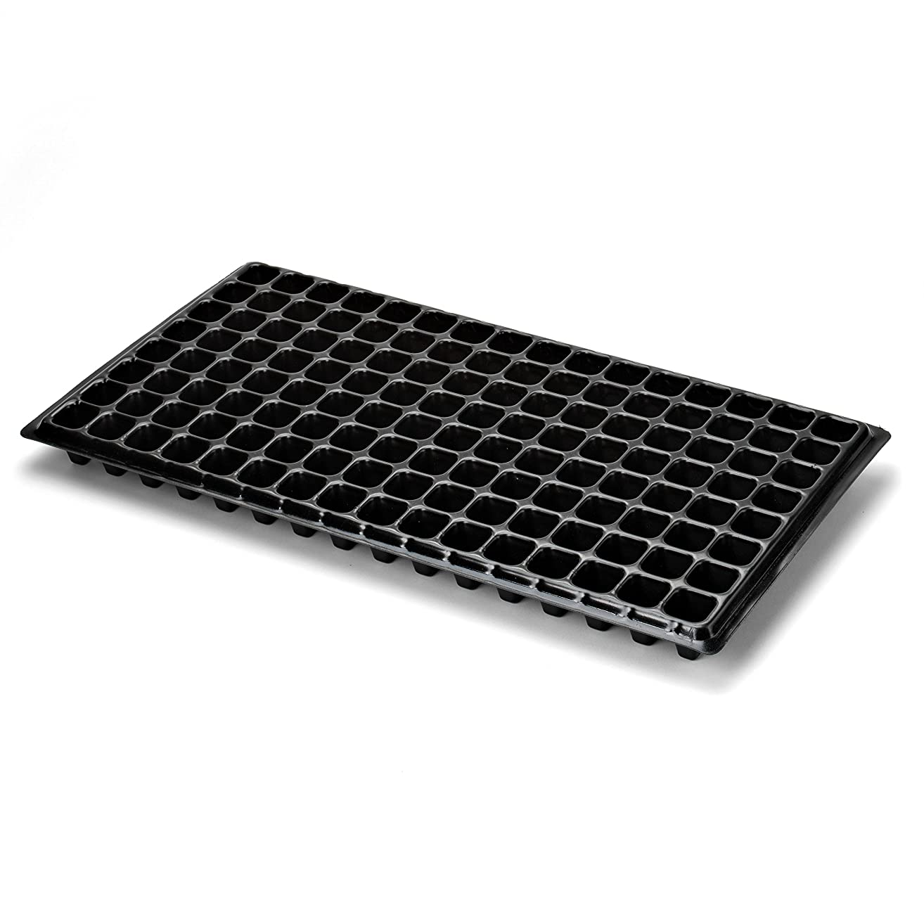 128 Cell Seedling Tray - Extra Strength 10 Pack, Seed Starter Grow Trays for Starting Plantings Propagation, Germination 1020 Plug Flat