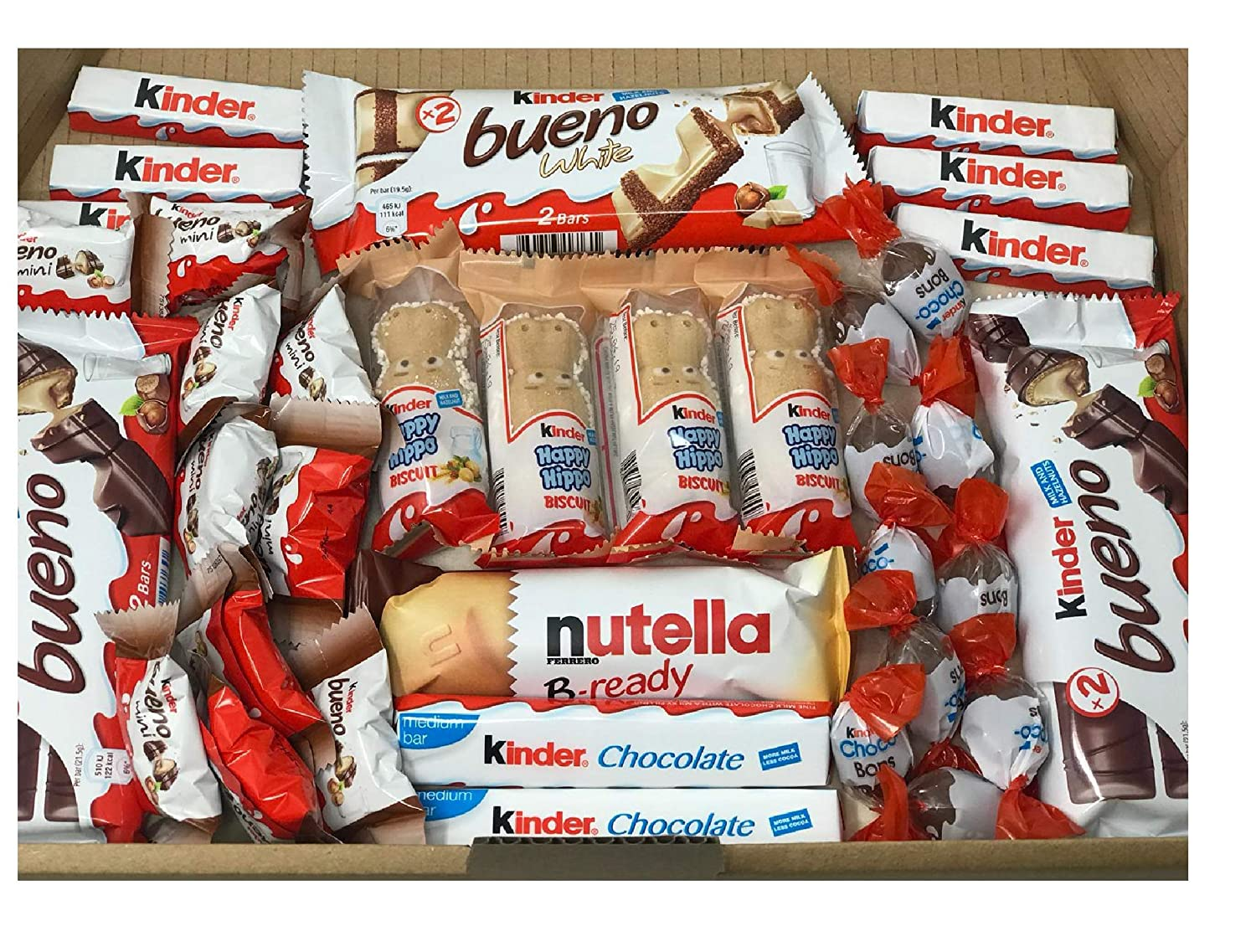 Kinder Mix Chocolate Oakland Mall Sweet Complete Free Shipping Large Trea Box Present Gift Selection