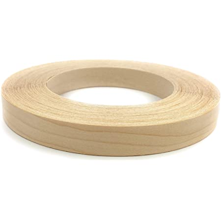 Edge Supply Brand Maple 7 8 X 50 Roll Preglued Wood Veneer Edge Banding Iron On