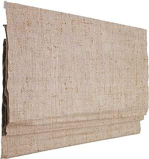 Victoria M. Ivora Estor Plegable, Cortina Plegable paqueto, 120 x 175 cm, Marfil Jaspeado