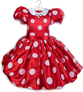 Disney Minnie Mouse Red Dress Costume for Kids Size 7/8 Red