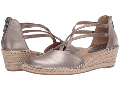 Kenneth Cole Reaction Clo Elastic Wedge (Pewter) Women