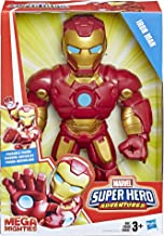 "Playskool Heroes Marvel Super Hero Adventures Mega Mighties Iron Man Collectible 10"" Action..."