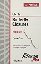 ProAdvantage Sterile Butterfly Closure Bandages, Medium, Latex-Free, 100/bx