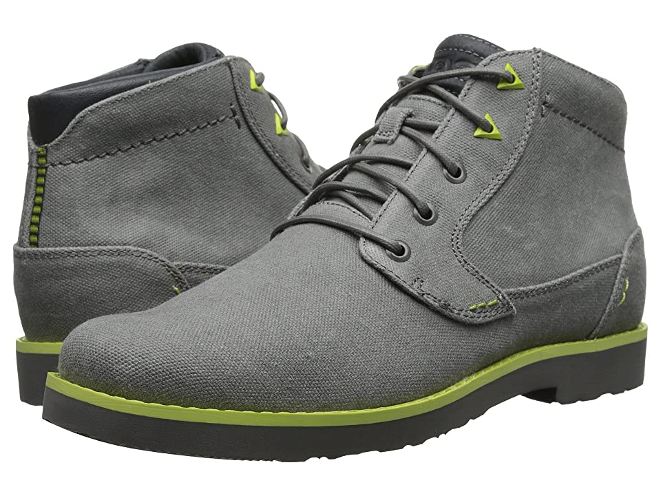 Teva Durban Waxed Canvas (Charcoal) Men
