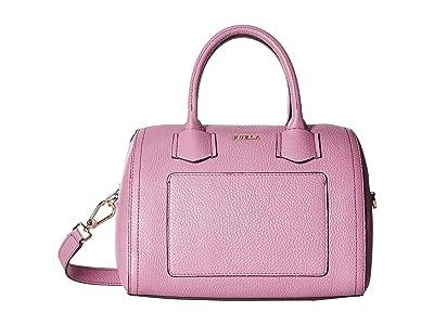 Furla Alba Small Satchel (Azalea) Handbags