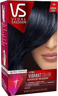 Clairol Vidal Sassoon Pro Series Hair Coloring Tools, 1bb Midnight Muse Blue