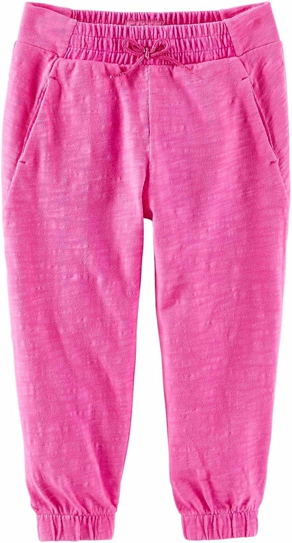 Oshkosh Girls' Jersey Joggers Hot Pink (12)