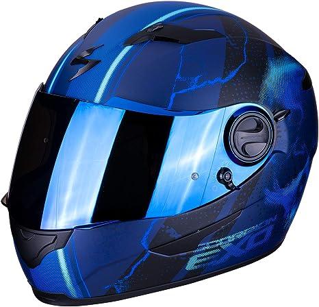 Scorpion Unisex Erwachsene Nc Motorrad Helm Blau M Auto