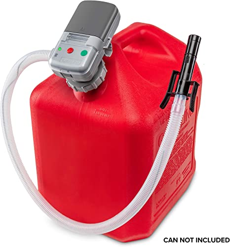 lowest Deway Automatic Fuel Transfer Pump with online Auto-Stop, AA Battery Powered, Advanced Adapter Fits All Size Gas Cans, Extra Long Hose, Portable Liquid Pump outlet sale for Gasoline, Diesel Fuel & More sale