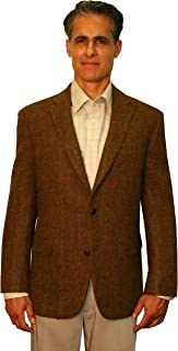 Big and Tall Genuine Harris Tweed Sport Coat to Size 60 in Short, Regular, and Long Sizes