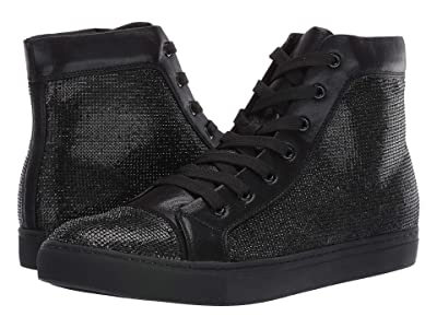 Steve Madden Sparkle High-Top Sneaker (Black) Men