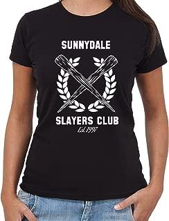 Sunnydale High Felpa CON CAPPUCCIO BUFFY L/'AMMAZZAVAMPIRI williow Da Donna Unisex con Cappuccio