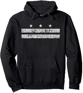 Washington DC District Columbia Flag Hoodie Gift Men Women